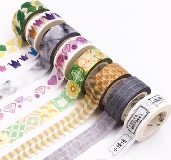 InfeelMe Washi Tape   Patterns   15mm x 7m   6921345P