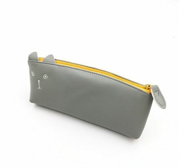 Grey Cat Pencil Case | GCPC01