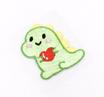 """""""Holding Heart"""" Iron-on Embroidery Patch 