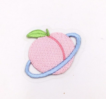 Iron-on Embroidery Patch | Peach Planet | EP025
