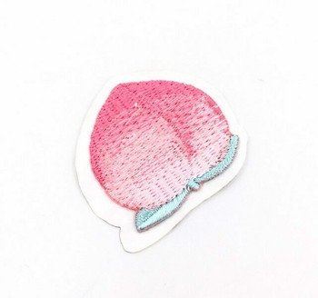 Iron-on Embroidery Patch | Peach | EP027