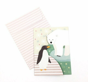 Double-Fold Greeting Card | Winter | GC001