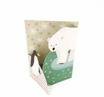 Double-Fold Greeting Card   Winter   GC001