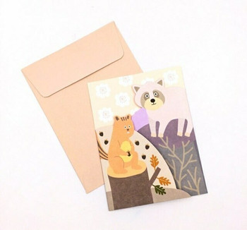Double-Fold Greeting Card | Autumn | GC002