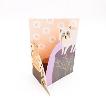 Double-Fold Greeting Card   Autumn   GC002