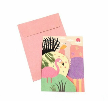 Double-Fold Greeting Card   Summer   GC003