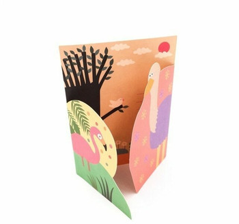 Double-Fold Greeting Card | Summer | GC003