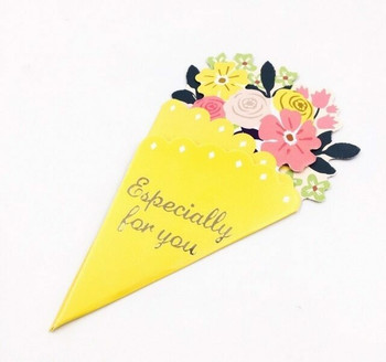 Bouquet Greeting Card | Yellow | GC006
