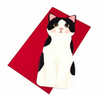 Little Cats Greeting Card   Cat 4   GC016