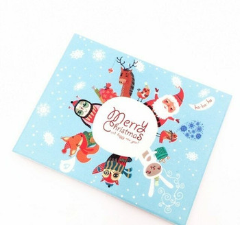 Mini Christmas Greeting Card | Style A | GC018