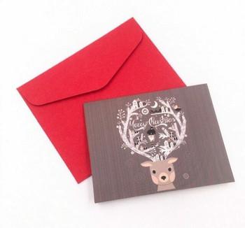 Mini Christmas Greeting Card   Style C   GC020