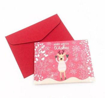 Mini Christmas Greeting Card   Style D   GC021