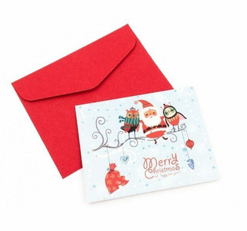 Mini Christmas Greeting Card   Style E   GC022
