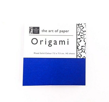 Origami Paper Pack | Solid Colours | 142 Sheets | 3 x 3 "