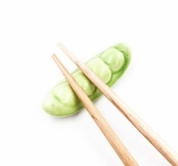 Green Pea Chopstick Rest | CR10