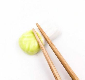 Bok Choy Chopstick Rest | CR12