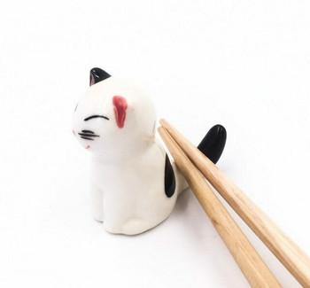 Sitting Cat Chopstick Rest | CR15