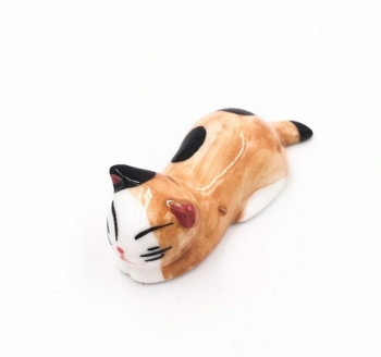 Ginger Cat Chopstick Rest | CR17