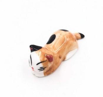 Ginger Cat Chopstick Rest | CR17