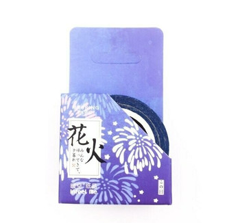 InFeelMe Washi Tape | Fireworks | 15mm x 7m | 6921345283429