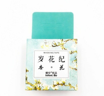 InFeelMe Washi Tape | Blossoms | 15mm x 7m | 6921345281074