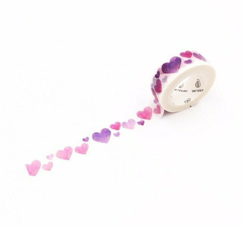 InFeelMe Washi Tape | Hearts | 15mm x 7m | 6921345282248