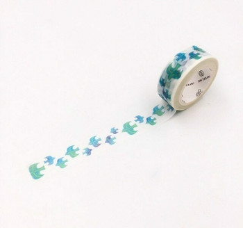 InFeelMe Washi Tape | Blue Birds | 15mm x 7m | 6921345282255