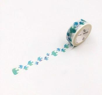 InFeelMe Washi Tape | Blue Birds | 15mm x 7m | 6921345282255