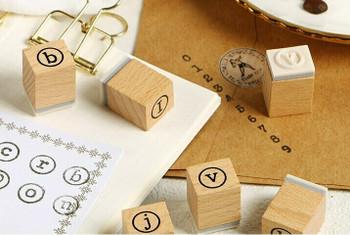 Infeel.me Alphabet Letter Typewriter Stamp Set of 41   6921345249913