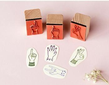 Journal Stamp Finger Arrow | 6971377337218