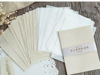 Craft Paper Stamping Vintage Paper 30 Sheets | 6959776569713