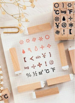 Symbol Stamp Set of 25 | 6971825054827