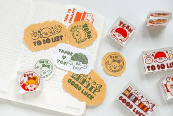 Rubber Stamp with Acrylic Handle   Options   6970392923512S