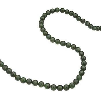 """Jade 8mm Round Bead 8"""" Strand   67689"""