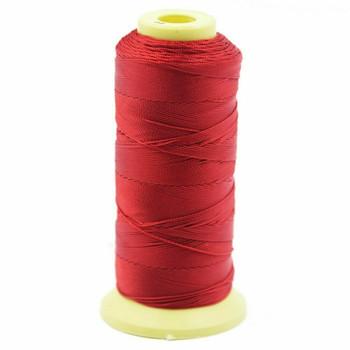 Nylon Cord | #12 ( 0.9mm)  | Dark Red | Sold by 350m Spool | NL1201