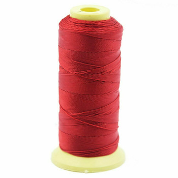 Nylon Cord | #12 ( 0.9mm)  | Dark Red | Sold by 350m Spool | NL1201