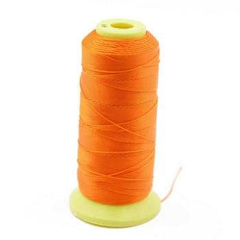 Nylon Cord | #6 (0.5mm) | Orange | Sold by 600m Spool | NL0603