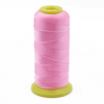 Nylon Cord | #6 (0.5mm) | Light Pink | Sold by 600m Spool | NL0605
