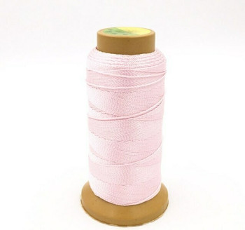 Nylon Cord | #15 (1.1mm) | Baby Pink | Sold by 250m Spool | NL1503