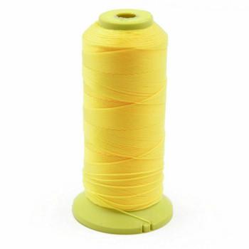Nylon Cord | #6 (0.5mm) | Sunshine Yellow | Sold by 600m Spool | NL0608