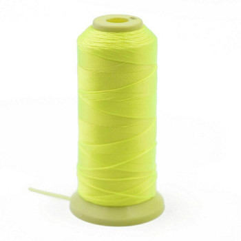Nylon Cord | #6 (0.5mm) | Neon Yellow | Sold by 600m Spool | NL0609