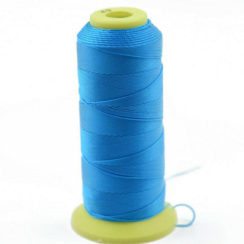 Nylon Cord | #3 (0.2mm) | Azure Blue | Sold by 1500m Spool | NL0315