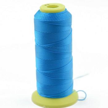 Nylon Cord | #6 (0.5mm) | Azure Blue | Sold by 600m Spool | NL0612