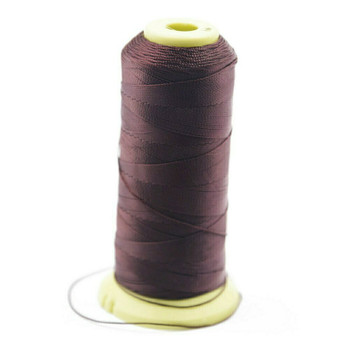 Nylon Cord | #3 (0.2mm) | Dark Brown | Sold by 1500m Spool | NL0318