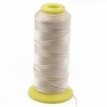 Nylon Cord | #3 (0.2mm) | Tan | Sold by the 1500m Spool | NL0319