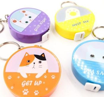 Mini Retractable Measuring Tape | Cats | 6948764213677