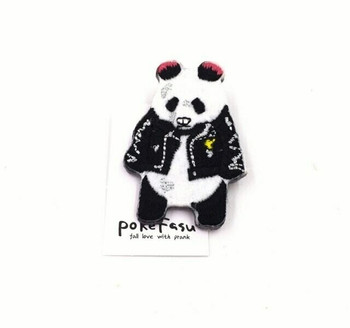 Felt Power Panda Pin | FP01