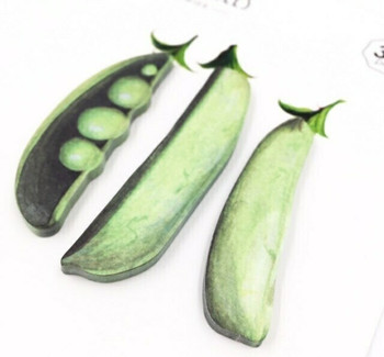 Bentoto House  Vegetable Sticky Notes   Green  Peas   8809201312491