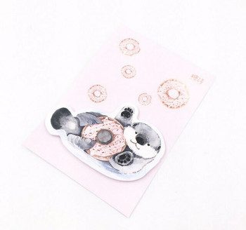 Candy Poetry Sticky Notes   Donut Otter   SN012