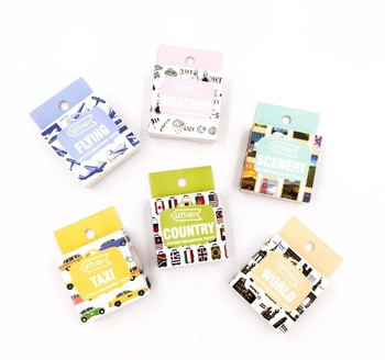 Travel Washi Tape | 15mm x 7m | Sold by Each | 6970840359108